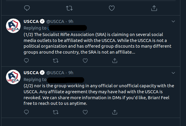 USCCA tweet one